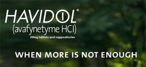 image from Justine Cooper's Havidol ad