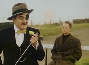 still image from Pitch 'n' Putt with Joyce 'n' Beckett