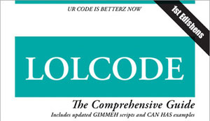 cover of LOLCode book
