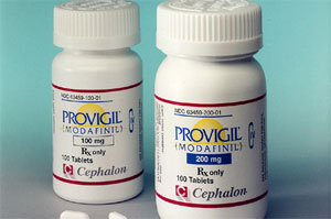 bottles of Provigil