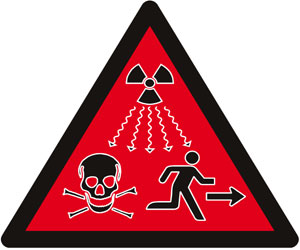 New radiation warning symbol