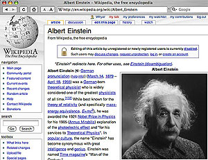 page from wikipedia