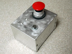 photo of the party button