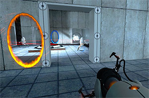 screen shot from Portal