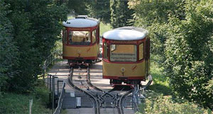 photo of a funicular