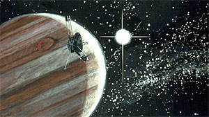 NASA image of the Pioneer spacecraft