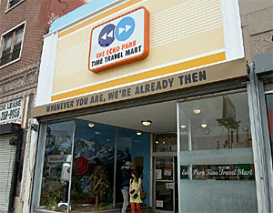 photo of the Time Travel Mart from good.is