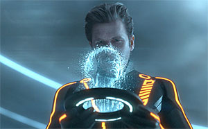 Image from TRON: Legacy