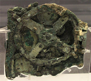 photo of the Antikythera Mechanism