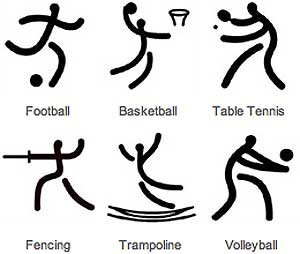 olympic archery pictograph