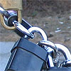photo of daisy-chained locks