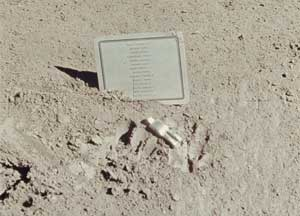 photo of Fallen Astronaut