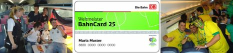 German train card