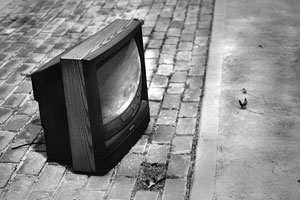 lonely TV. Photo by briancweed/flickr.com
