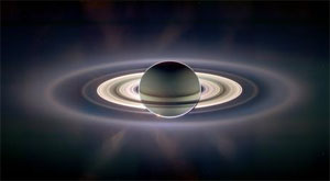 Saturn image from the Cassini spacecraft