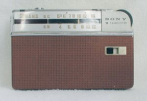 image from Sarah Lowrey's transistor radio collection