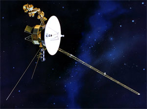 image of Voyager I spacecraft